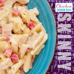 Skinny Chicken Cordon Bleu Casserole - Powered by Healthy Food Swaps, Healthy Food Alternatives, Healthy Food Options, Healthy Recipes, Chicken Cordon Bleu Casserole, Pressure Cooker Recipes, Pressure Cooking, Slow Cooker, Food Substitutions