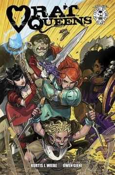 DEAL OF THE DAY Rat Queens #1 (Cover A - Gieni) - $3.19 Retail Price: $3.99 You Save: $0.80 'CAT KINGS AND OTHER GARYS,' Part One-NEW STORY ARC! The Rat Queens are back! Betty, Violet, Dee, Braga, and Hannah return! Palisade is still a rat-infested troll's ass, and everyone still hates Gary.  TO BUY CLICK ON LINK BELOW http://tomatovisiontv.wix.com/tomatovision2#!comics/cfvg