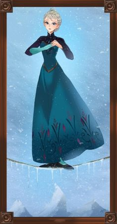Frozen Edition - This is great! From the stretching room - unknown artist Disney Nerd, Disney Love, Disney Parks, Walt Disney, Disney Stuff, Disney Films, Disney And Dreamworks, Disney Pixar, Disney Characters