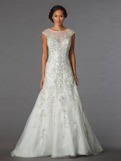 KleinfeldBridal.com: Sophia Moncelli: Bridal Gown: 33081613: A-Line: Dropped Waist