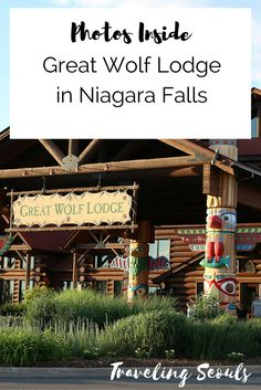 Take a look at all the cool activities and amenities at The Great Wolf Lodge in Niagara Falls (Ontario, Canada). Click to see more or save this pin for later. More at Traveling Seouls