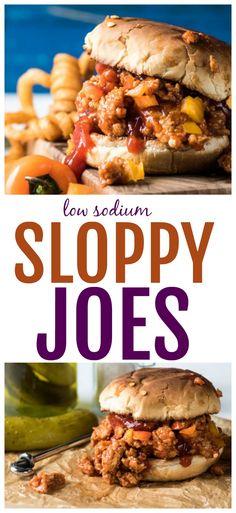 Homemade Low Sodium Sloppy Joes - We're Parents