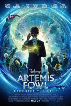 Disney's Artemis Fowl Adds Colin Farrell to the Cast As New Trailer and Poster Drops - IGN Artemis Fowl, Judi Dench, Colin Farrell, Scary Movies, Good Movies, Movies Free, Movie Trailers, Film Vf, Films Netflix