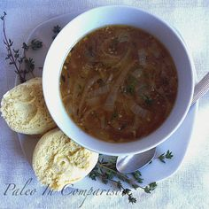 Paleo In Comparison: French Onion Soup (with 21 Day Sugar Detox modifications) #21DSD