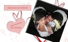 San Valentín, un regalo con mucho amor, un cojín en forma de corazón con tu foto favorita. Le sorprenderás en el día de los enamorados. https//:www.bookfotosbarcelona.es