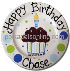 Another Birthday plate idea