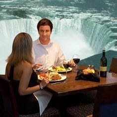 Enjoying A Meal At The Keg Steakhouse Bar In Niagara Falls