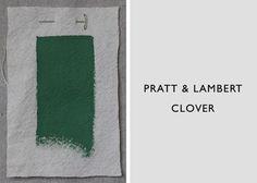 Best Jade and Celadon Green Paint Colors, Pratt & Lambert Clover, Remodelista