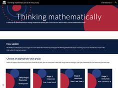 Thinking mathematically A large collection of K-6 tasks, lessons and investigations: targeted teaching (including number talks) and contexts for practice. Number Talks, Australian Curriculum, Math Resources, Investigations, Teaching, Activities, Education, Collection, Math
