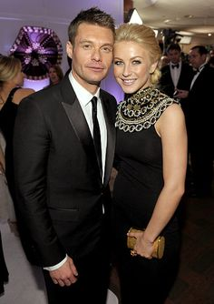 Former Golden Couple - Ryan Seacrest & Julianne Hough. Celebrity Couples, Celebrity News, Dancing With The Starts, Halsey Singer, Golden Globes After Party, Ryan Seacrest, She Movie, Famous Couples, Julianne Hough