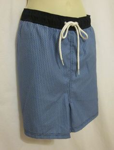 9038a861 Nautica Swimsuit Swim Trunks XXL 2XL Quick Dry Seacobalt Blue 4.5