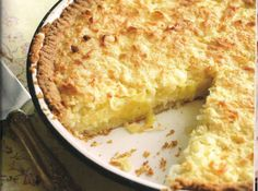 Coconut Pie from North Carolina