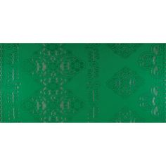 Stretch Floral Lace Green from @fabricdotcom  Delicate and classic, this printed lace is soft and sheer with 40% stretch. This lace fabric appropriate for lingerie, overlays on skirts or dresses, feminine apparel accents, and wraps or shrugs.