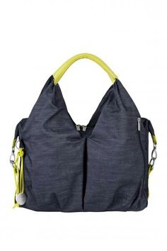 9026b0d5ab6806 Lassig Neckline Diaper Bag Denim Blue-baby enRoute Diaper Bags