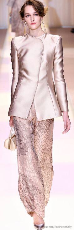 Armani Privé Fall 2013 Couture Fashion Show