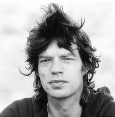 That thick, hedonistic mouth. It could only belong to Mick Jagger. Mmmmmmm....