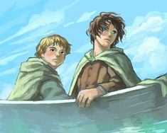 Frodo and Sam fanart
