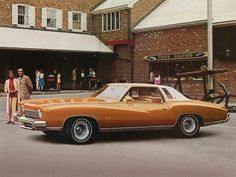 By the late the era of the Detroit Big Three personal luxury coupe was in full-swing. In September Chevrolet introduced its own take on the theme in the form of the Monte Carlo, a. Chevrolet Monte Carlo, Prestige Car, Car Brochure, Old School Cars, Retro Cars, Fuel Economy, Comfort Zone, Buick, Old Cars