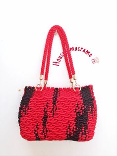 macrame bag by house of macrame                                                                                                                                                     More