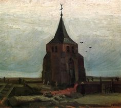 The Old Tower  - Vincent van Gogh