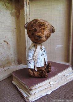 Мишка тедди, выкройка от Марины Кустовой / Мишки / Бэйбики. Куклы фото. Одежда для кукол