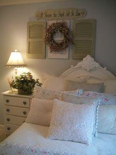 Shabby chic home decor home tour - Debbiedoos Shabby Chic Romantic Cottage <3
