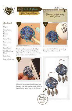 ISSUU - Blue Bronze Patina Effect by Vintaj®