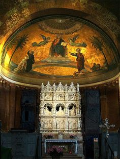 Pavia+churches | Pavia - Church of S. Pietro in Ciel d'Oro (8th century/rebuilt in 12th ...