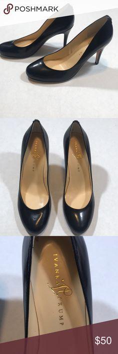 9cb7b7052b Ivanka Trump Black Leather Pumps NWOT Ivanka Trump Black leather heels  NWOT. Beautiful and classic