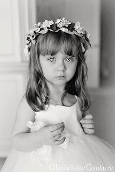 Flower Girl Dress Wedding by OliviaKateCouture on Etsy
