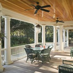 My mcdreamy house on pinterest florida landscaping for Cypress porch columns
