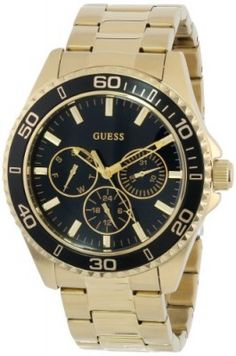 Relógio GUESS Women's U0231L3 Analog Display Quartz Gold Watch #Relogios #Guess
