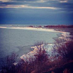 Snowy Beach, Conneaut Ohio