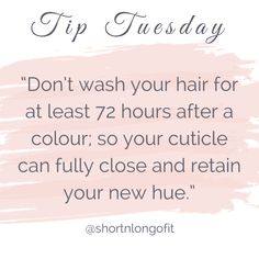 Totally doable on all hair types. even if you have thin oily hair. Don't forget there's always dry shampoo. Hairdresser Quotes, Hairstylist Quotes, Hair Salon Quotes, Hair Quotes, Hair Stylist Tips, Hair Care Tips, Hair Tips, Hair Facts, Body Shop At Home