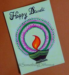 Diwali greeting card diwali greeting cards pinterest diwali diwali greeting card m4hsunfo