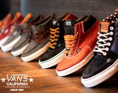 Vans . Cali collection .