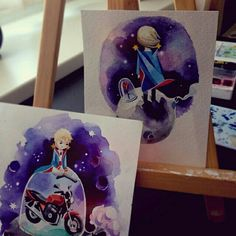 Sasha Unisex's the Little Prince. I'm crying. I love this so much.