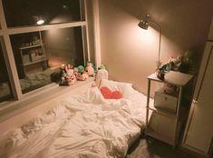 Super Ideas For Home Bedroom Design Sleep Small Room Bedroom, Bedroom Colors, Small Rooms, Home Bedroom Design, Bedroom Decor, Decor Room, Dream Rooms, Dream Bedroom, Tumblr Room Decor