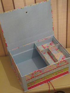 KUFŘÍK – poslední 9. lekce (vložná krabička) PLUS ARCHIV SCRAPBOOKOVÉ ALBUM