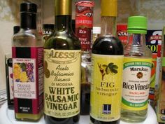 Using vinegar instead of salt for low sodium meals