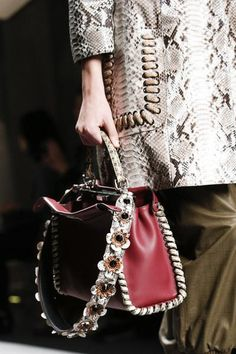 a8d7d327fd7c A detailed look at Fendi Spring 2016 Fashion Handbags, Fashion Bags,  Fashion Accessories,