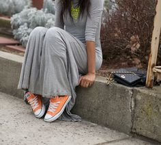 grey and neon