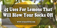 45 Uses For Lemons