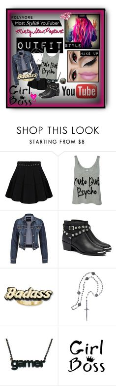 """""""Me as a YouTuber"""" by kp03411 ❤ liked on Polyvore featuring maurices, Senso, Steve Madden, Pamela Love, Watson's and Under Armour"""