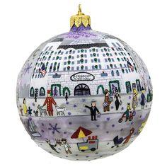 Let's go shopping at @bergdorfs! We're excited to release our 2015 Bergdorf Goodman custom Michael Storrings glass ornament. @michael_storrings #christmas #ornaments #christmastree #bergdorfgoodman #ilovetotravel #ilovelandmarks #landmarkcreations #handmade #shopping #newyork #NYFW #culture