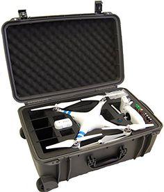 Microraptor Pro Cases-Hard Case For DJI Phantom 2 Vision / Vision+ Wheeled, Carrying Case (Gunmetal Grey Case, Black Foam) Microraptor Pro Cases http://www.amazon.com/dp/B00MS49L9C/ref=cm_sw_r_pi_dp_L-hKub07ERG52