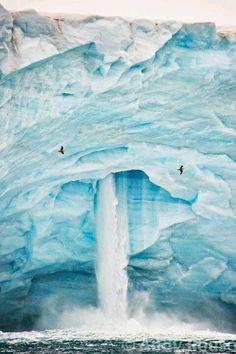 Iceberg Waterfall