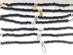 Black Seed Bead Bracelets  Friendship Bracelets with by Annyse