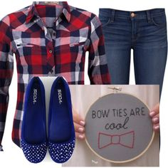 """Black & Red"" by lovalafashion on Polyvore"