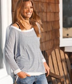 I so want this sweater, casual and adorable to wear on a weekend running errands!